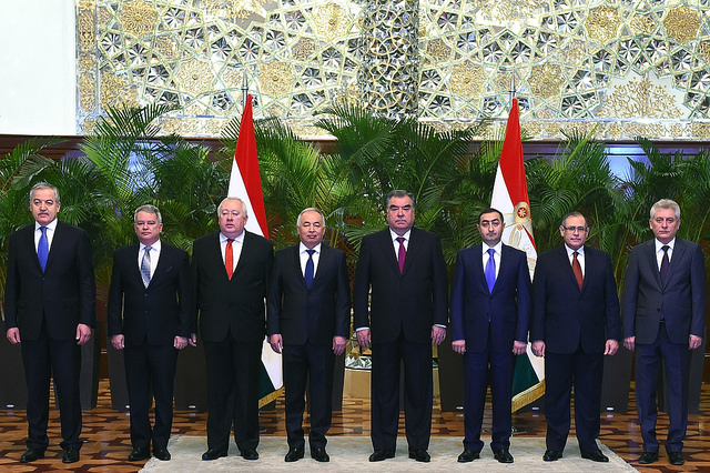 Reception of credentials from 5 new ambassadors