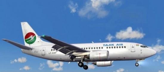 Самолёт авиакомпании «Таджик Эйр» Boeing 737-300 приземлился в Душанбе