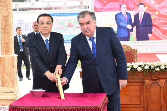 The start of construction works for the new buildings of the Parliament and the Government of Tajikistan