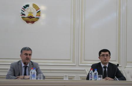 Встреча с узбекской делегацией